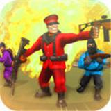 玩具士兵射击
